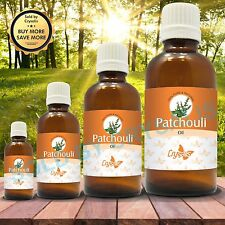 PATCHOULI OIL 100% NATURAL PURE UNDILUTED UNCUT ESSENTIAL OIL 5ML TO 1000ML