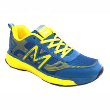 CALCETTO MEN'S  RUNNING SHOES IN BLUE/YELLOW COLORS MRP 1499 30% DISCOUNT 1049