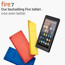 "Amazon Fire Kindle Reader Tablet 7"" Display Wi-Fi 8/16GB Black/Yellow/Blue/Red!"
