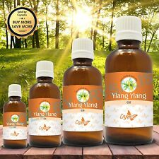 YLANG YLANG OIL 100% NATURAL PURE UNDILUTED UNCUT ESSENTIAL OIL 5ML TO 1000ML