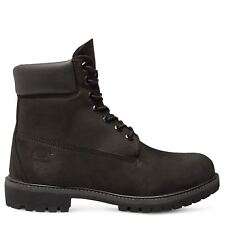 Timberland 6in Premium Black Waterproof Boot Size 2 to 6.5 rrp £115