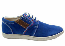 LEE COOPER BRANDED CASUAL LOAFERS IN BLUE COLOUR FLAT TPR COMFORTABLE SOLE