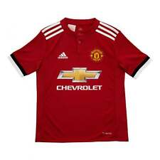 Adidas Performance Juniors Manchester United 2017/2018 Home Shirt (Red)