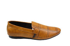 HOLLIS MEN'S CASUAL LOAFERS SHOES IN TAN COLOR MRP 1999 35% DISCOUNT 1299