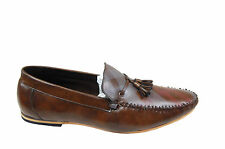 HOLLIS MEN'S CASUAL LOAFERS SHOES IN BROWN COLOR MRP 1999 35% DISCOUNT 1299