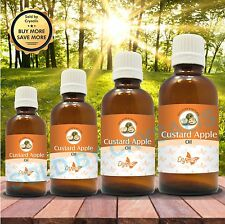 CUSTARD APPLE SEED OIL 100% NATURAL PURE UNDILUTED CARRIER  OIL 5ML TO 1000ML