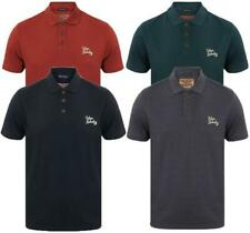 TOKYO LAUNDRY DESIGNER MENS COTTON BUTTON UP CASUAL POLO T-SHIRT TOP 1X9631