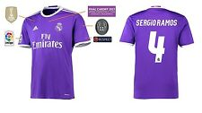 Trikot Real Madrid Away Champions League Final Cardiff 2017 - Sergio Ramos 4