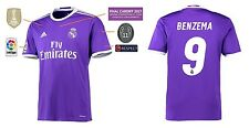 Trikot Real Madrid Away Champions League Final Cardiff 2017 - Benzema [164-XXL]