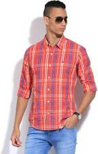 United Colors of Benetton Mens Checkered Casual Shirt-5441-I4T