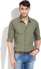 United Colors of Benetton Mens Solid Casual Shirt-5441-IGP