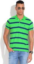 United Colors of Benetton Striped Mens Polo Neck T-Shirt-5441-HY9