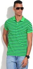 United Colors of Benetton Striped Mens Polo Neck T-Shirt-5441-HTH
