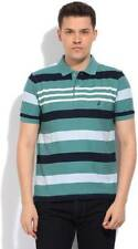 Nautica Striped Mens Polo Neck T-Shirt- CV4