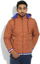 Fort Collins Full Sleeve Printed Mens Quilted Jacket   (Flat 50% OFF) -C48
