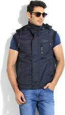 Fort Collins Full Sleeve Solid Mens Quilted Jacket (Flat 50% OFF) -DQU