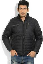 Fort Collins Full Sleeve Solid Mens Quilted Jacket (Flat 50% OFF) -D7R