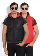 Fort Collins Sleeveless Solid Mens Jacket (Flat 50% OFF) -DLC