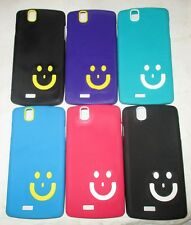 Lava Iris Selfie 50 / Lava Iris X5 Soft Silicon Smiley Back Cover Cases