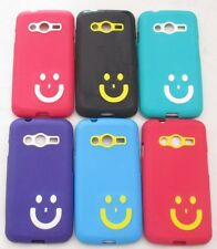 Samsung Galaxy Ace Nxt g313 Soft Silicon Smiley Back Cover Cases/Screen Guard