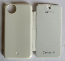 Micromax Canvas Android A1 AQ4501 AQ4502 Back Flip Cover Cases/Tempered Glass