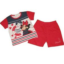 Completo neonata Disney Minnie t-shirt e shorts blu