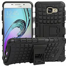 Hybrid Rugged Dual Layer Shockproof Kickstand Back Case For All Samsung Galaxy