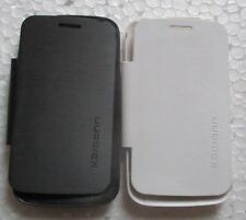 Karbonn Smart A 52 Soft Silicon Back Flip Cover Cases/Screen Guard
