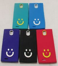 MICROMAX CANVAS XPRESS A99 Soft Silicon Smiley Back Cover Cases/Tempered Glass