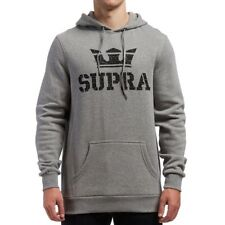 SUPRA ABOVE PULLOVER HOODIE - GREY HEATHER