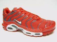 Nike Air Max Plus TN Tuned 1 University Red Grey Mens Trainers 852630 600