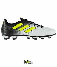 FASHION adidas Ace 17.4 FG Uomo Scarpe calcio White/SolYellow