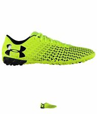 DI MARCA Under Armour CF Force 3.0 Mens Astro Turf Boots Yellow