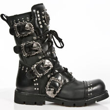 New Rock Gothic EBM Metal Ranger Army Springer Biker Boots Stiefel M.1474-S1