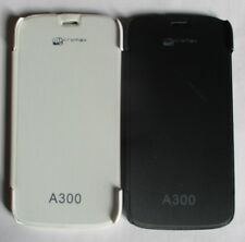 Micromax Canvas Gold A 300 Back Flip Cover Cases/Screen guard/Tempered Glass