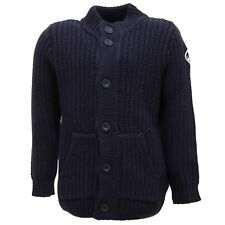 2051T maglione cardigan bimbo NORTH SAILS blu cotone/lana sweater kid