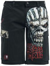 Iron Maiden EMP Signature Collection Pantaloncini nero