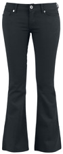Black Premium by EMP Corded Extra Boot (Boot-Cut) Pantaloni donna nero