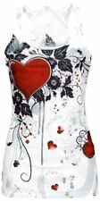 Innocent Rose Heart Top donna bianco