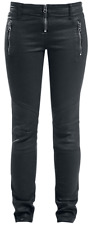 Forplay Biker Pants Jeans donna nero
