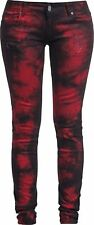 Rock Rebel by EMP Megan Jeans donna nero/rosso