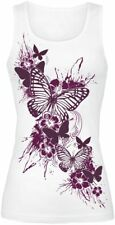 Full Volume by EMP Butterfly Sky Top donna bianco