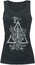 Harry Potter The Deathly Hallows Top donna nero