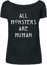 American Horror Story All Monsters Are Human Maglia donna nero