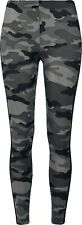 Urban Classics Ladies Camo Stripe Leggings Leggings mimetico scuro/nero