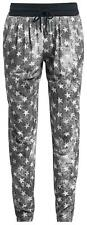 RED by EMP Leisure Trousers (Loose Fit) Pantaloni donna grigio/bianco