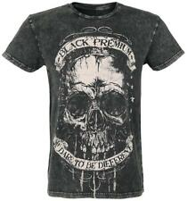 Black Premium by EMP Dare To Be Different Crinkle Shirt T-Shirt nero