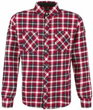 Rock Rebel by EMP Checkered Embroidery Shirt Camicia rosso/nero