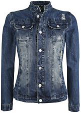 Full Volume by EMP Ladies Jeans Jacket Giacca donna blu