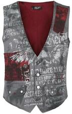 Rock Rebel by EMP No More Rules Vest Gilet grigio